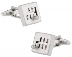 6 speed Gear Shift Cufflinks