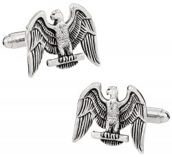 Eagle Cufflinks in Silver