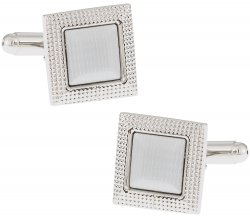 Edgy Metal Cufflinks