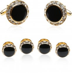 Enamel and CZ Formal Set