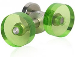 Lime Cufflinks by BLOCK
