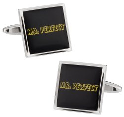 Mr. Perfect Cufflinks