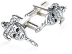 New Orleans Mask Cufflinks