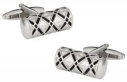 Ornate Silver Cufflinks
