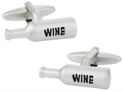 Wine Bottle Cufflinks