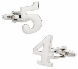 Number Cufflinks - Your Choice