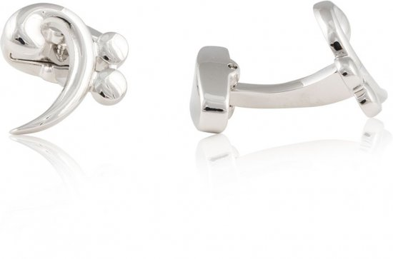 Base Clef Music Cufflinks