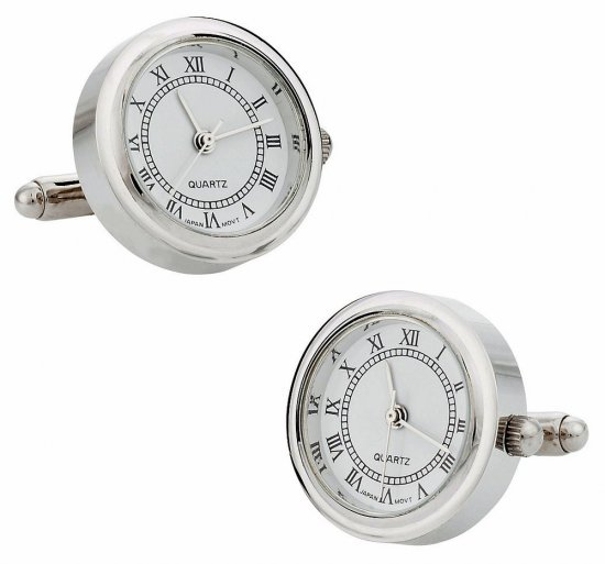 Father's Day Watch Cufflinks
