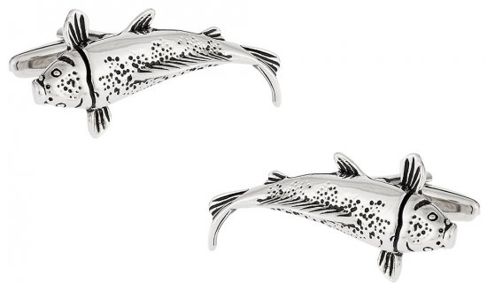 Japanese Koi Fish Cufflinks