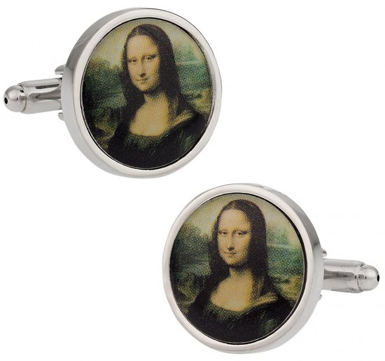 Mona Lisa Cufflinks
